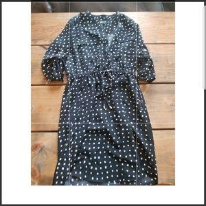 Mossimo Polka-Dot Tie Dress